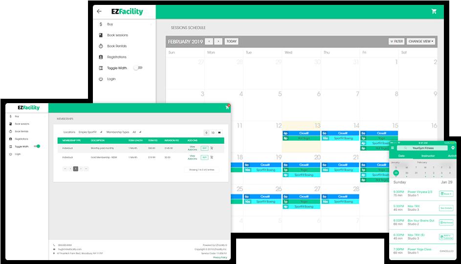 EZFacility Software