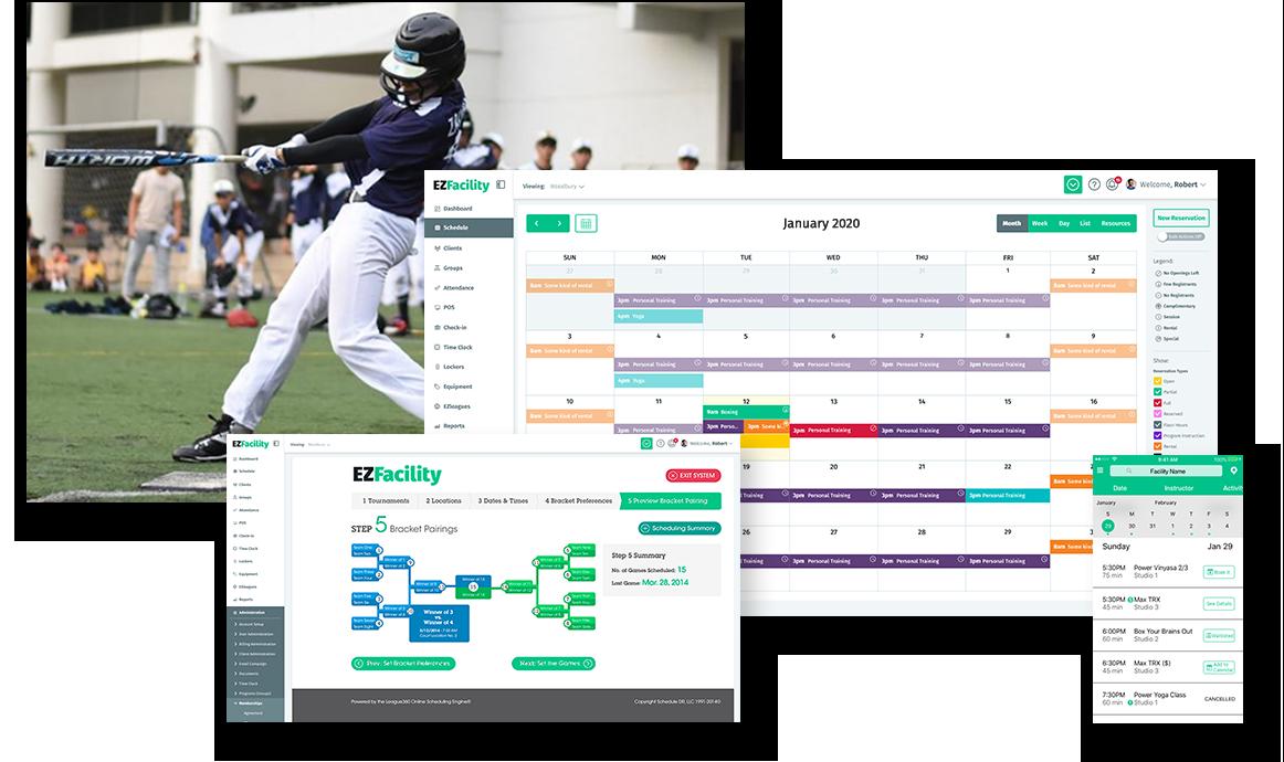 Baseball Facility Management Software by EZFacility