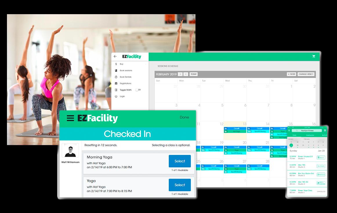 Yoga & Pilates Studio Management Software by EZFacility
